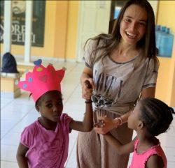 FEDERICA, CAMPUS NPH IN HAITI